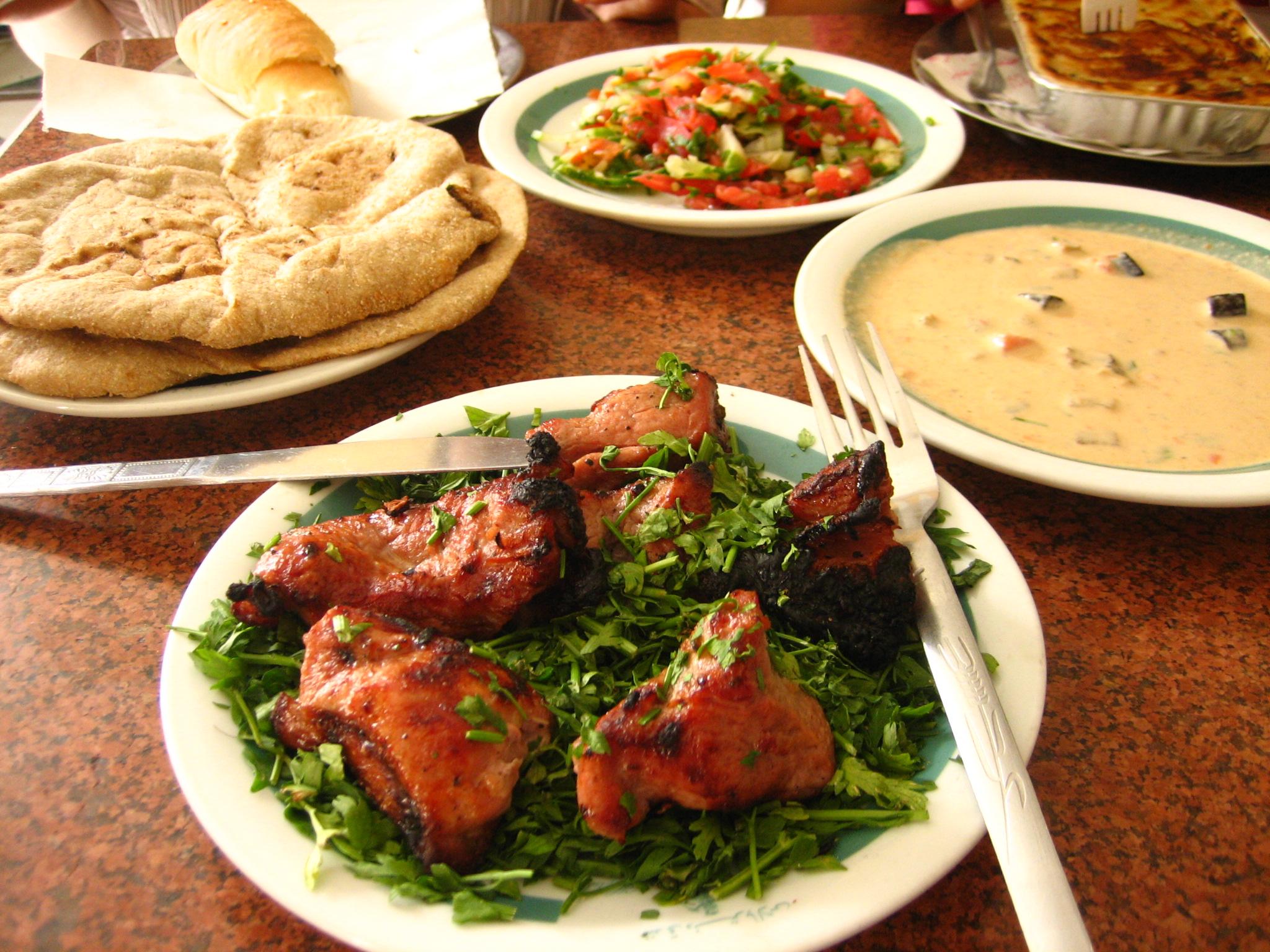 Арабские картинки духовке